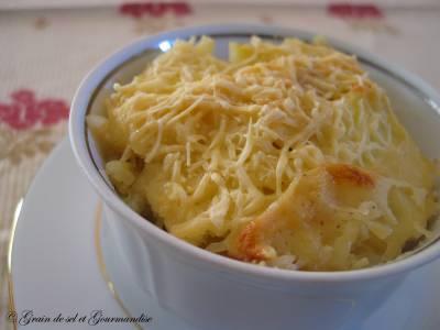 Gratin de pommes de terre normande