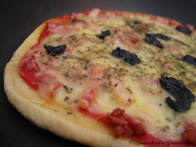 Fausse Pizza à La Poêle