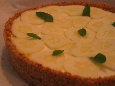 Cheesecake Salé au Concombre