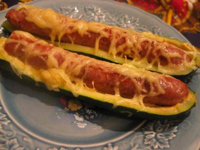 Hot-Dog de Courgette