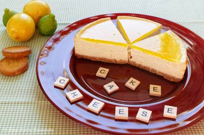 Cheesecake citron palets bretons (Cheese-cake)