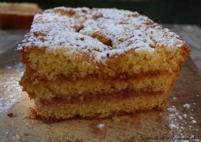 Sponge Cake Fraise-Abricot