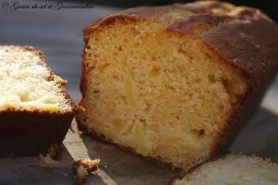 Cake au Chocolat Blanc et Pomme