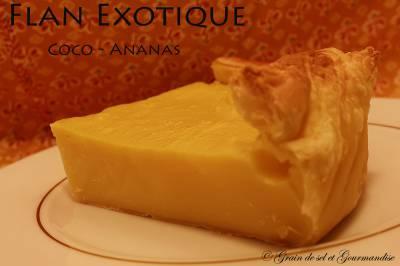 Flan Coco-Ananas