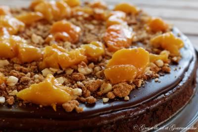 Gâteau au chocolat-mascarpone (Cyril Lignac)