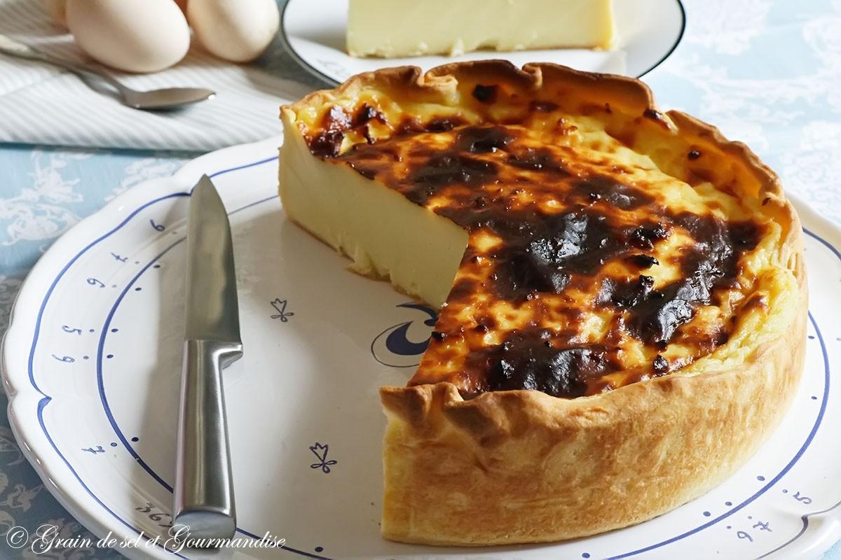 Flan pâtissier (recette de C. Felder)