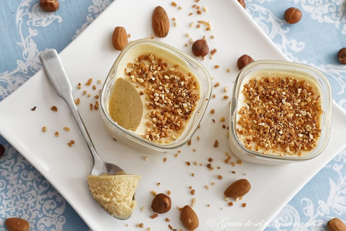 Recette Glace Pistache Sans Oeufs semifreddo au praliné (parfait glacé) (sans sorbetière)