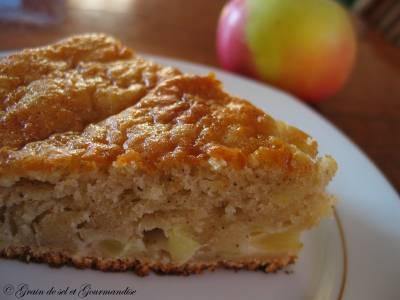 Gâteau Pomme-Cannelle