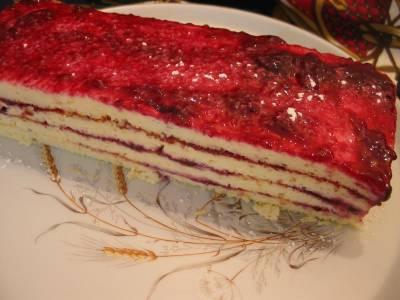Gâteau au Fromage Blanc et sa gelée de cassis