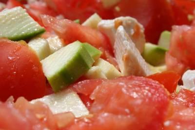 Mélange de Couleurs et de Saveurs-Salade Estivale