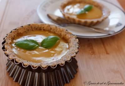 Tartelette au lemon curd {recette express sans cuisson}